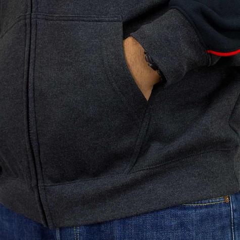 Fox Zip-Hoody Aggrezzor schwarz
