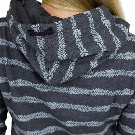 Ragwear Damen-Hoody Yoda Stripes schwarz