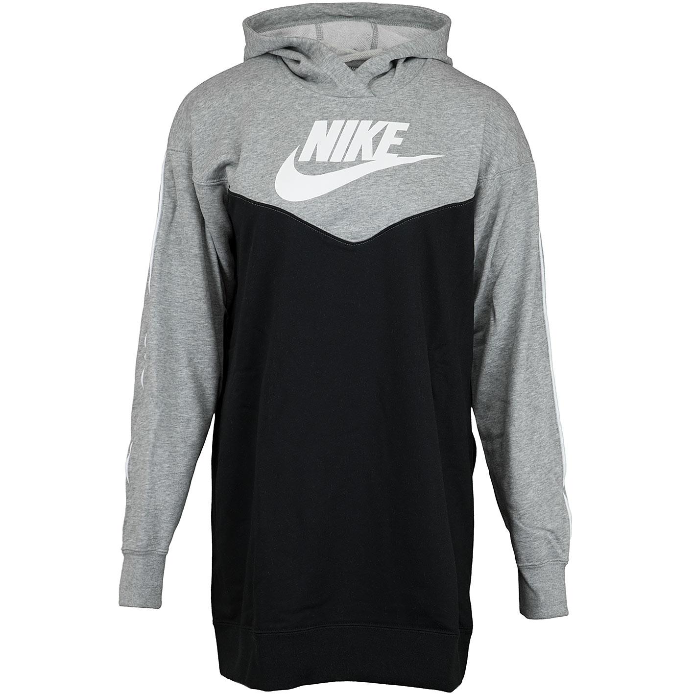 pretty nice 2515e 0245b Nike Kleid Heritage Hood schwarz/grau/weiß
