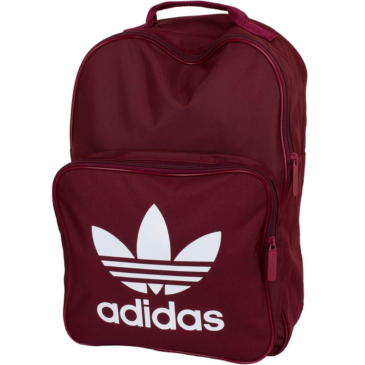 ☆ Adidas Originals Rucksack Classic Trefoil weinrot hier