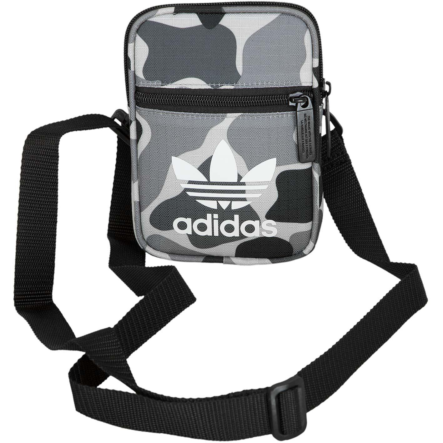 ? Adidas Originals Festival Bag B Camo grau schwarz