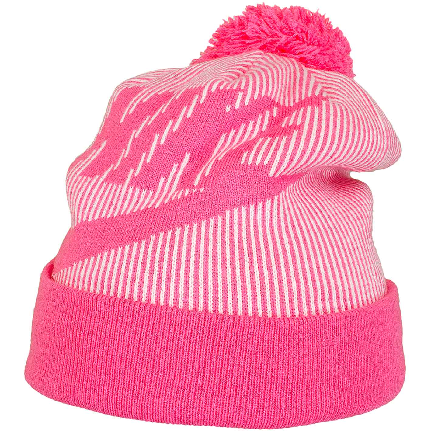 c5975e1f635 ... cap hat girls youth fire pink size 4 6x ebay 76743 f02da purchase nike  damen beanie cuffed pom pink weiß e3b19 c2b14 ...