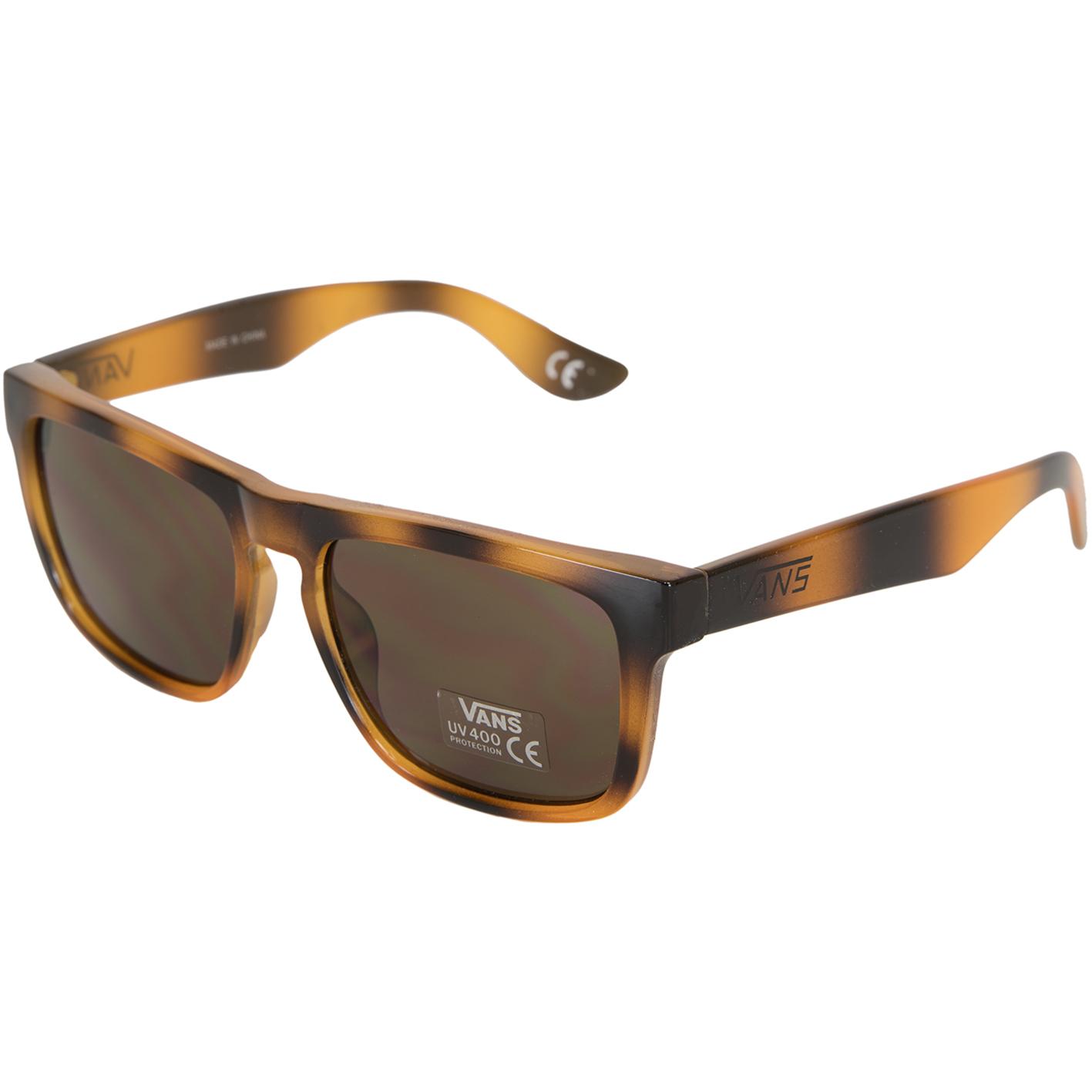 Vans Sonnenbrille Squared Off, UV 400, brown tortoise braun