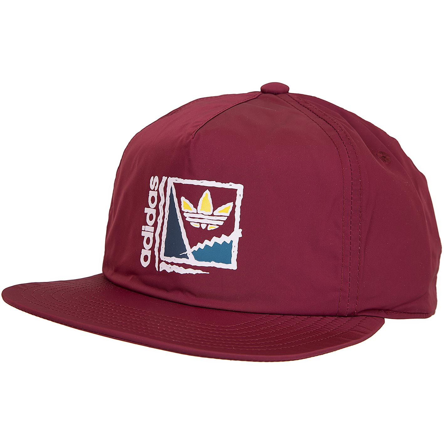 fashion styles sale usa online professional sale Adidas Originals Snapback Cap Courtcrusher weinrot