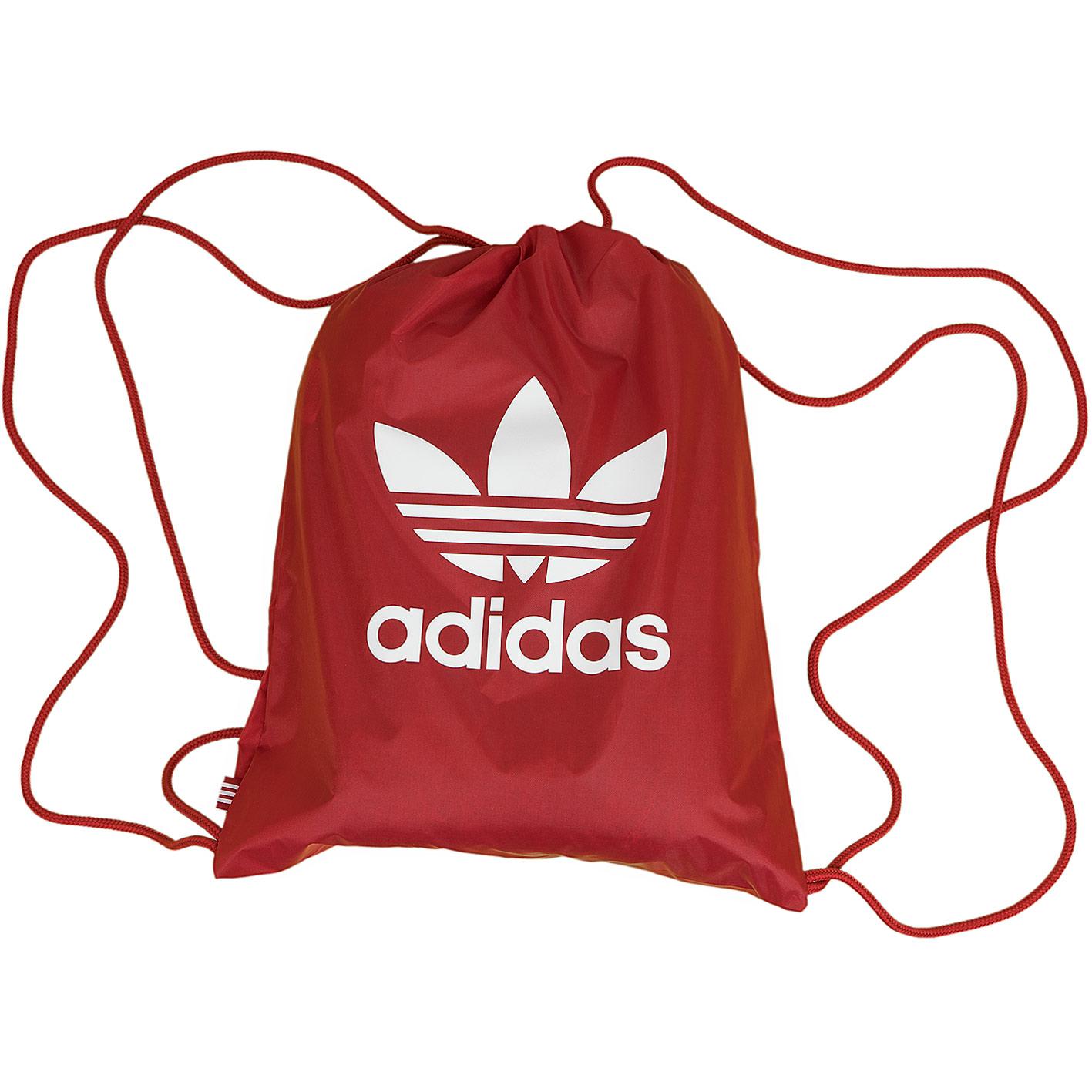 bd9eb25221 ☆ Adidas Originals Gym Bag Trefoil rot - hier bestellen!