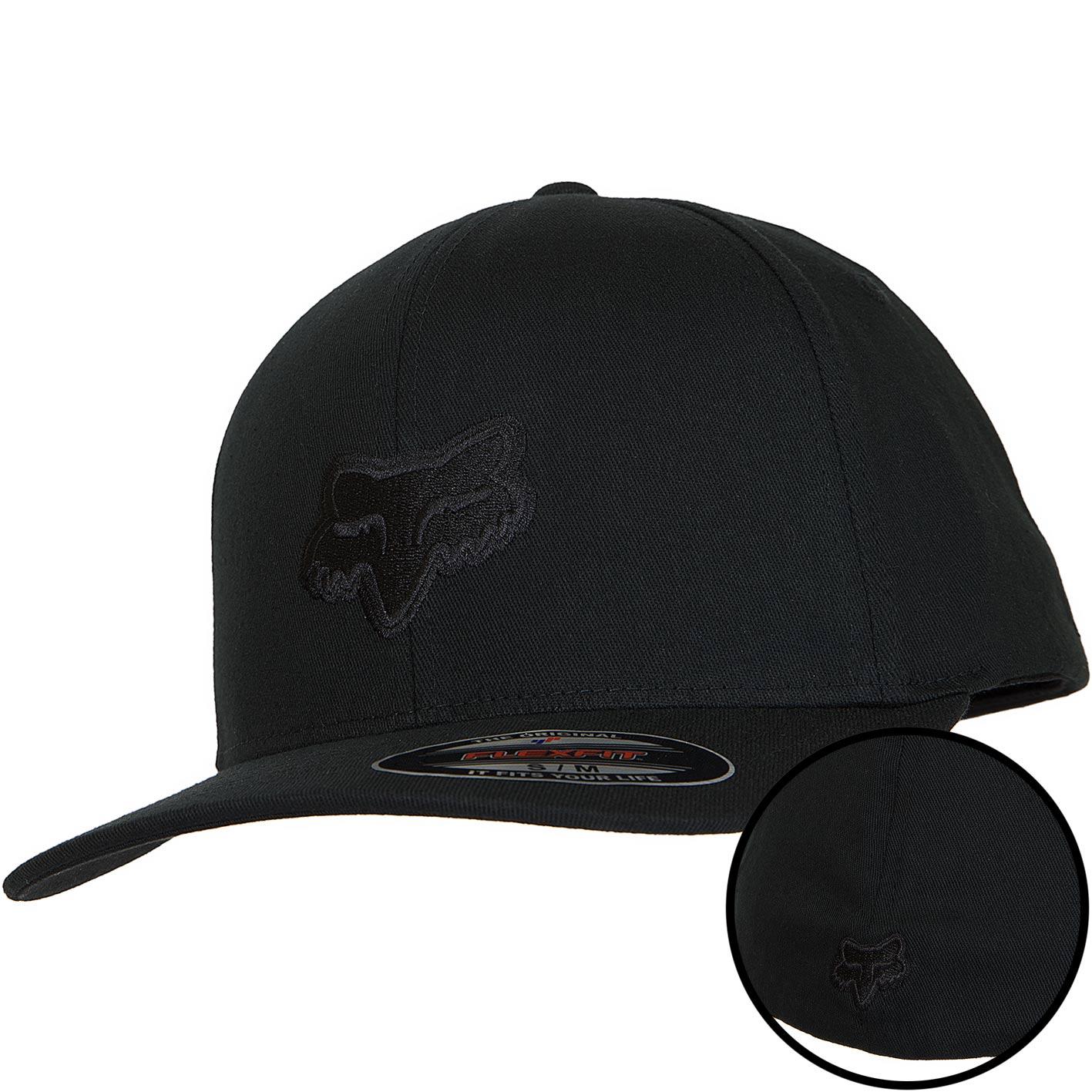 Fox Flexfit Cap Legacy schwarzschwarz