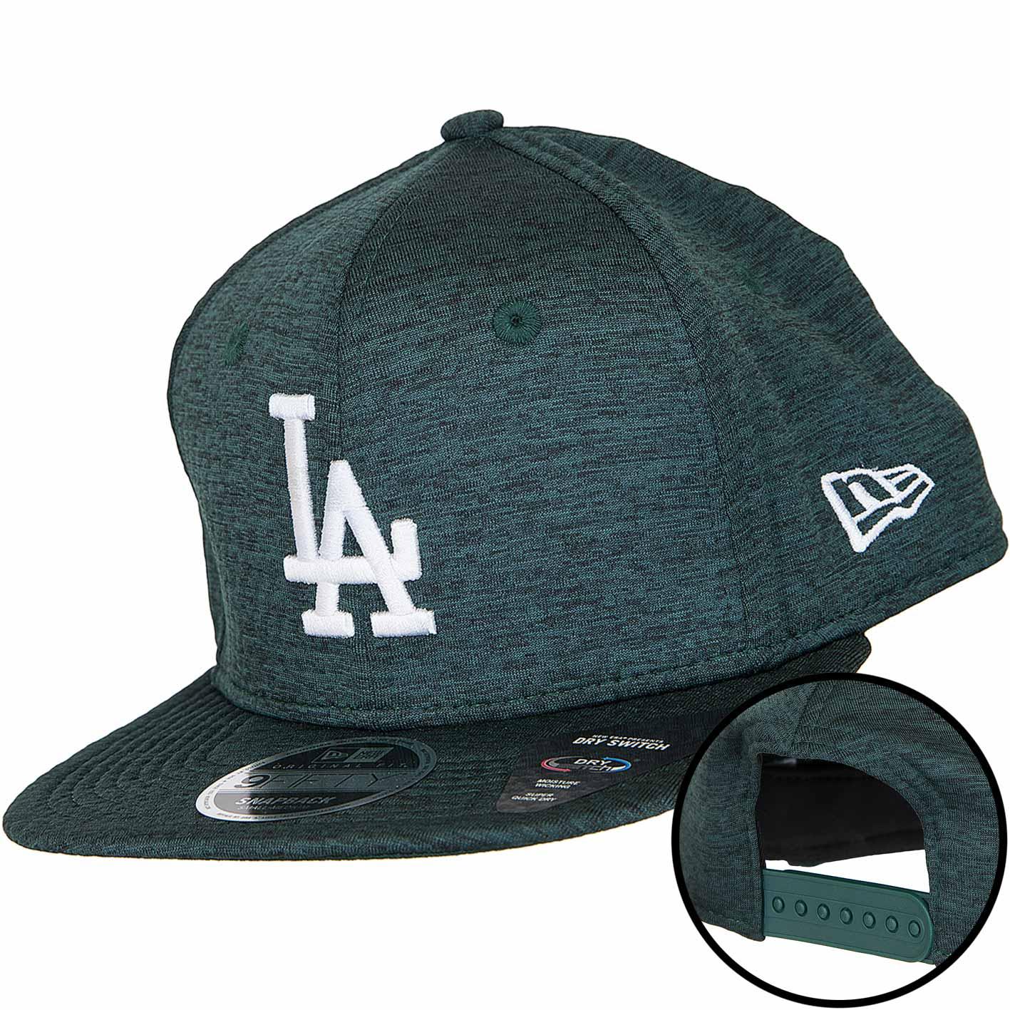 8299ac51ed8 ☆ New Era 9Fifty Snapback Cap Dry Switch L.A. Dodgers dunkelgrün ...