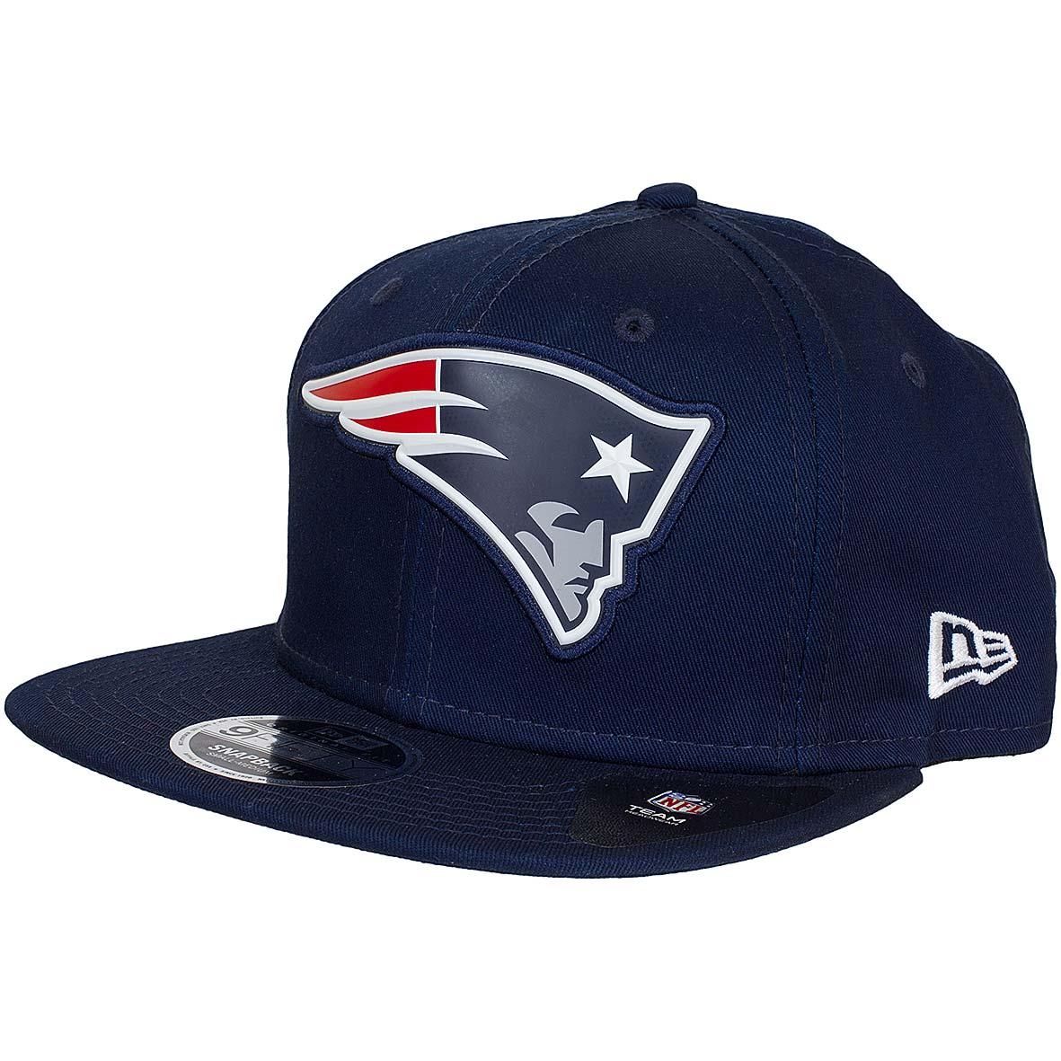 3b946017ba24 New Era 9Fifty Snapback Cap Team Logo Weld New England Patriot dunkelblau