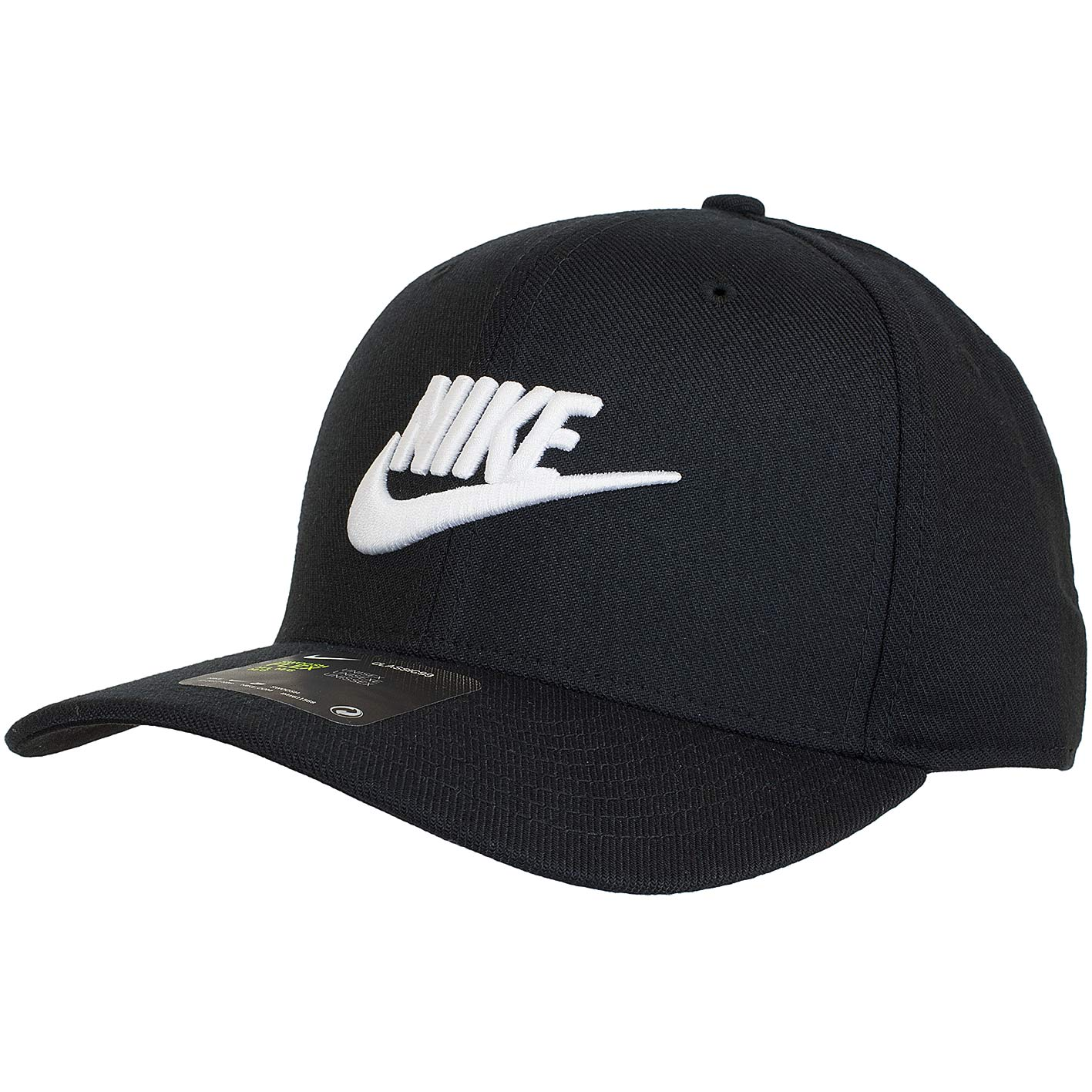 Nike Flexfit Cap Classic 99 Swoosh Flex schwarz/weiß