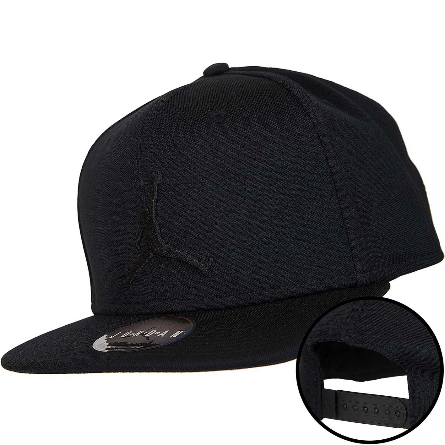 best value pretty nice really comfortable Nike Snapback Cap Jordan Jumpman black/schwarz