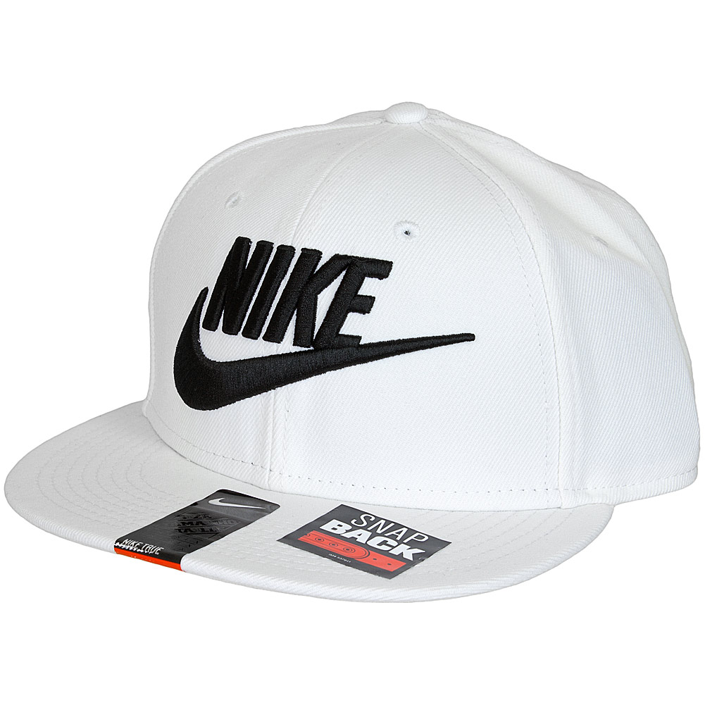 68bf7193c Nike Limitless True Snapback Cap weiß/schwarz