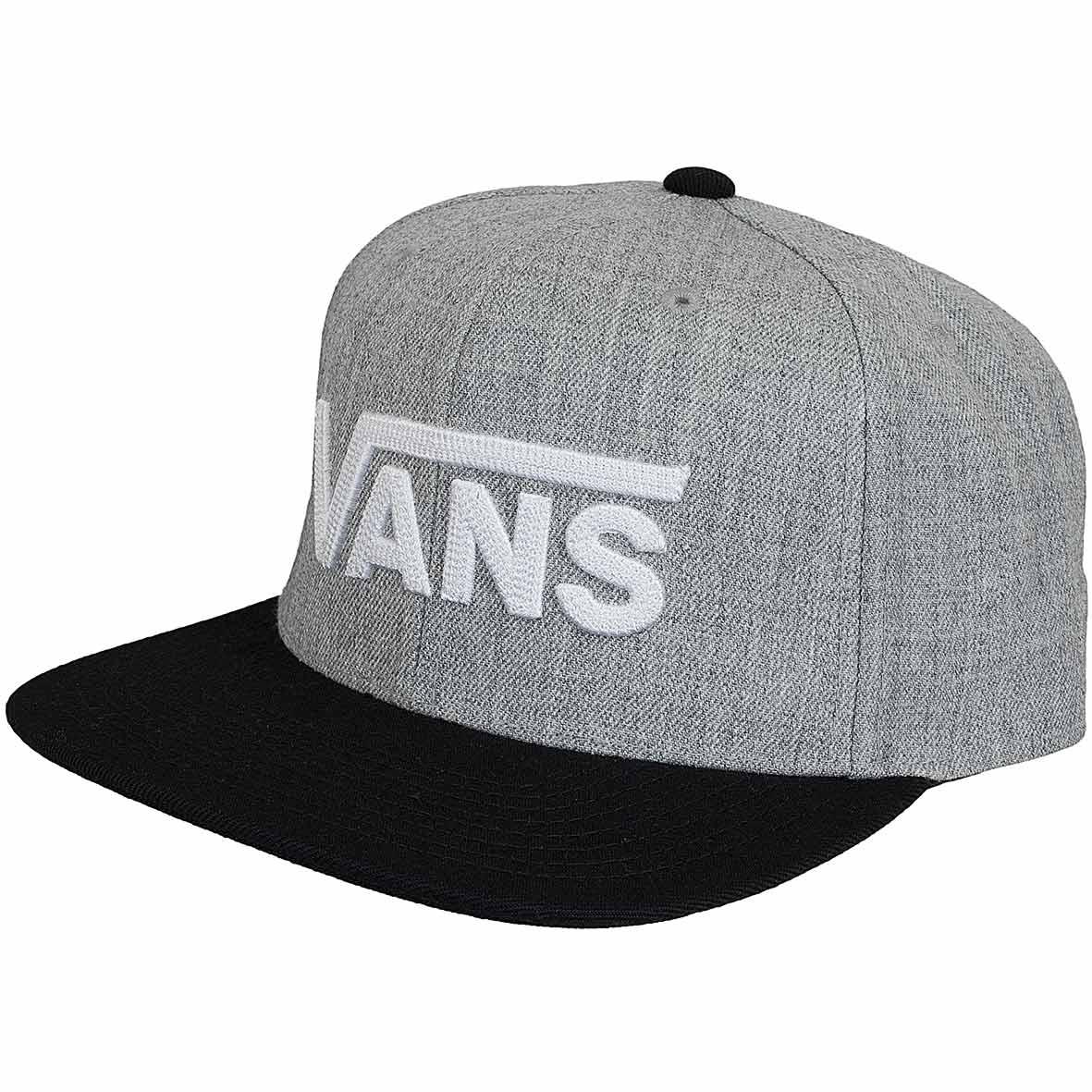 Vans Snapback Cap Drop V II grauschwarz