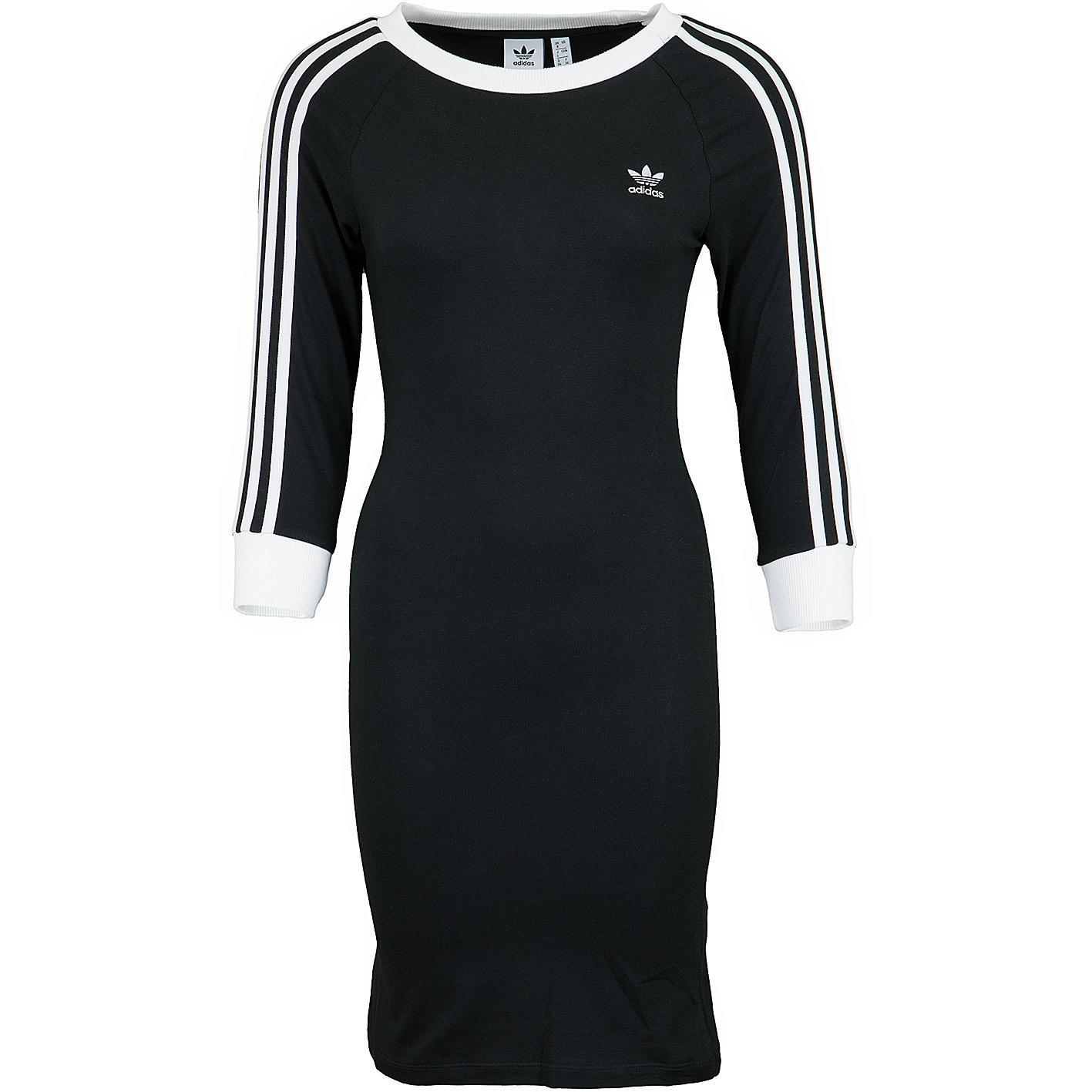 Adidas Originals Kleid schwarz/weiß
