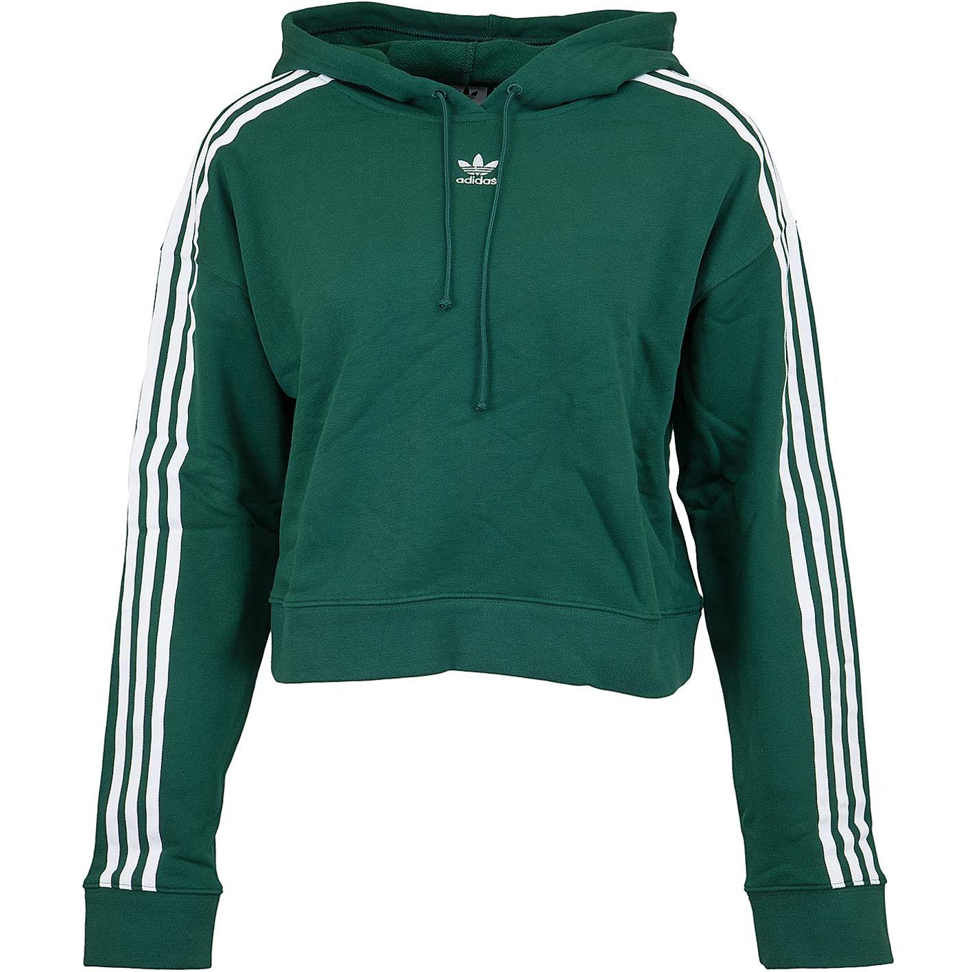 ☆ Adidas Originals Damen Hoody Cropped grün hier bestellen!
