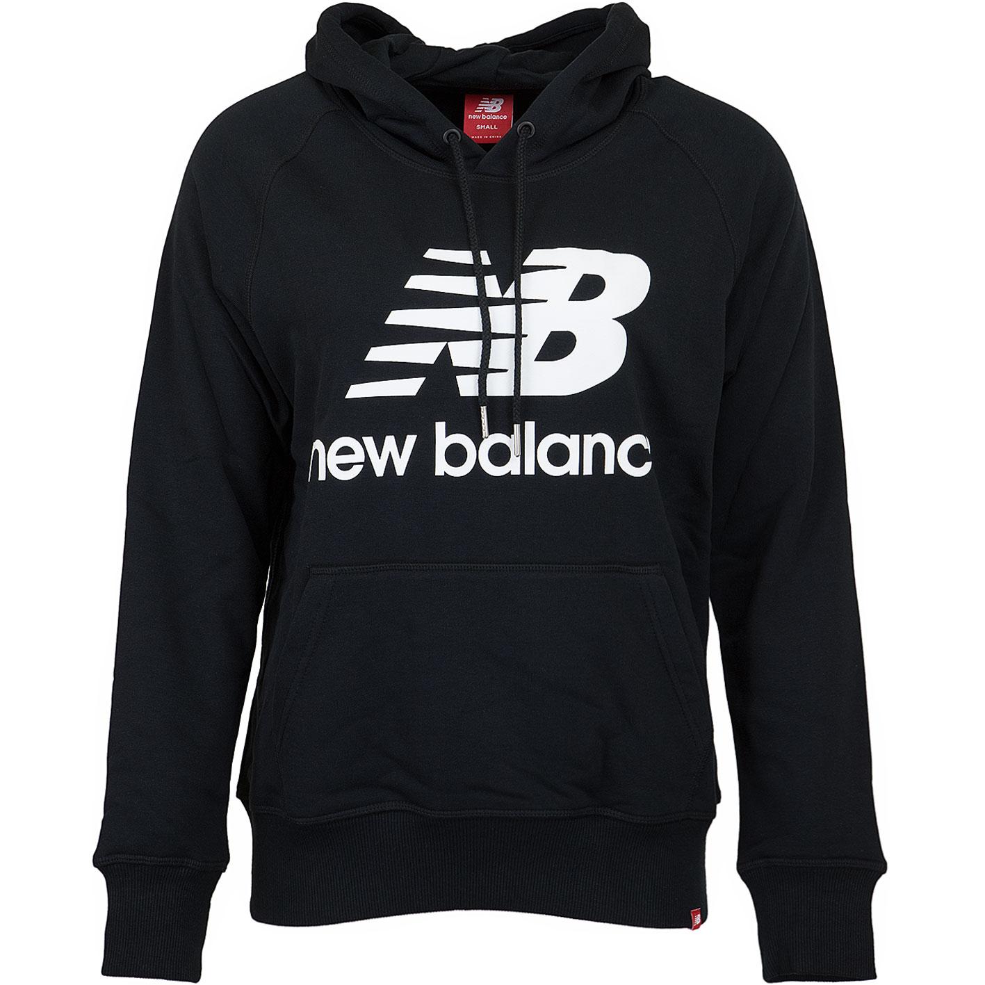 New Balance Damen Hoody Essentials schwarz