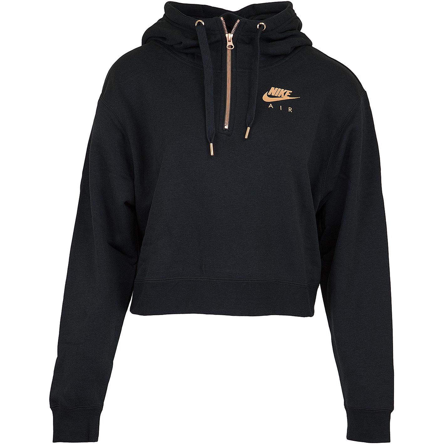 newest ac76f 663a2 ☆ Nike Damen Hoody Air Fleece HZ schwarz/rose - hier bestellen!