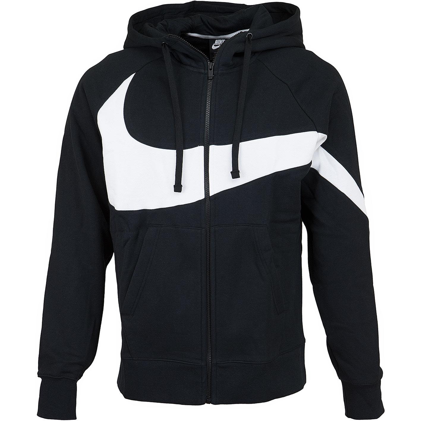 check out c9849 38c20 Nike Zip-Hoody HBR BB ST schwarz/weiß