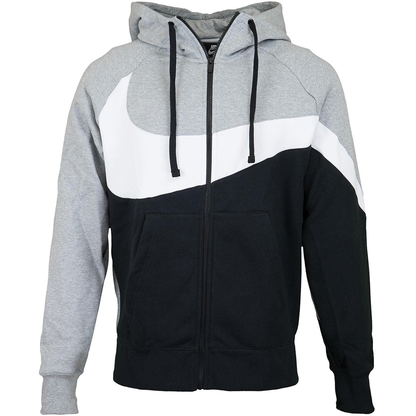 best website a3376 621be Nike Zip-Hoody HBR BB ST grau/schwarz