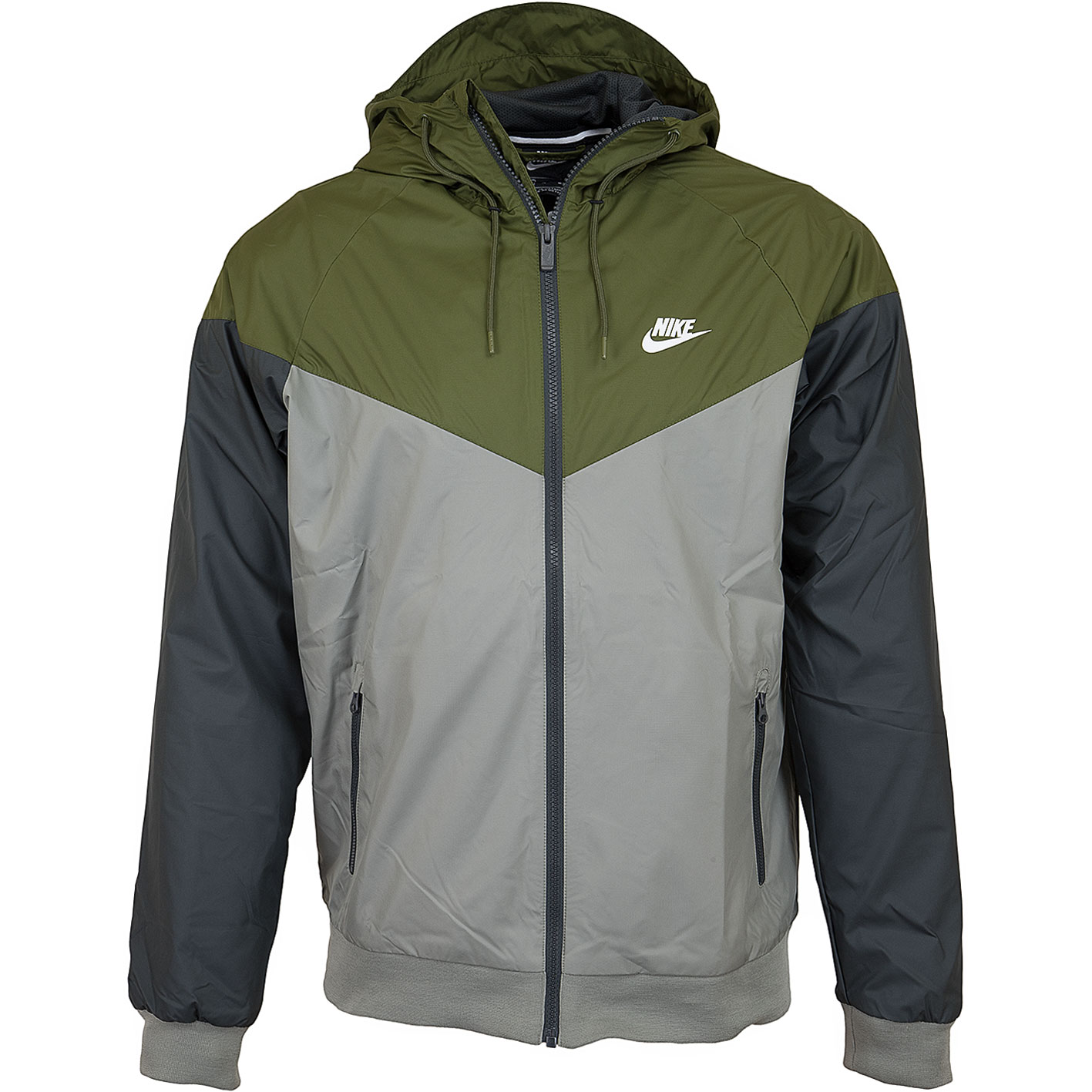 Nike Jacke Windrunner blauschwarzweiß