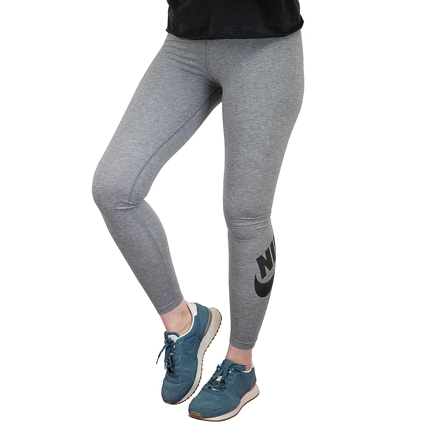Nike Leggings Leg A See grauschwarz