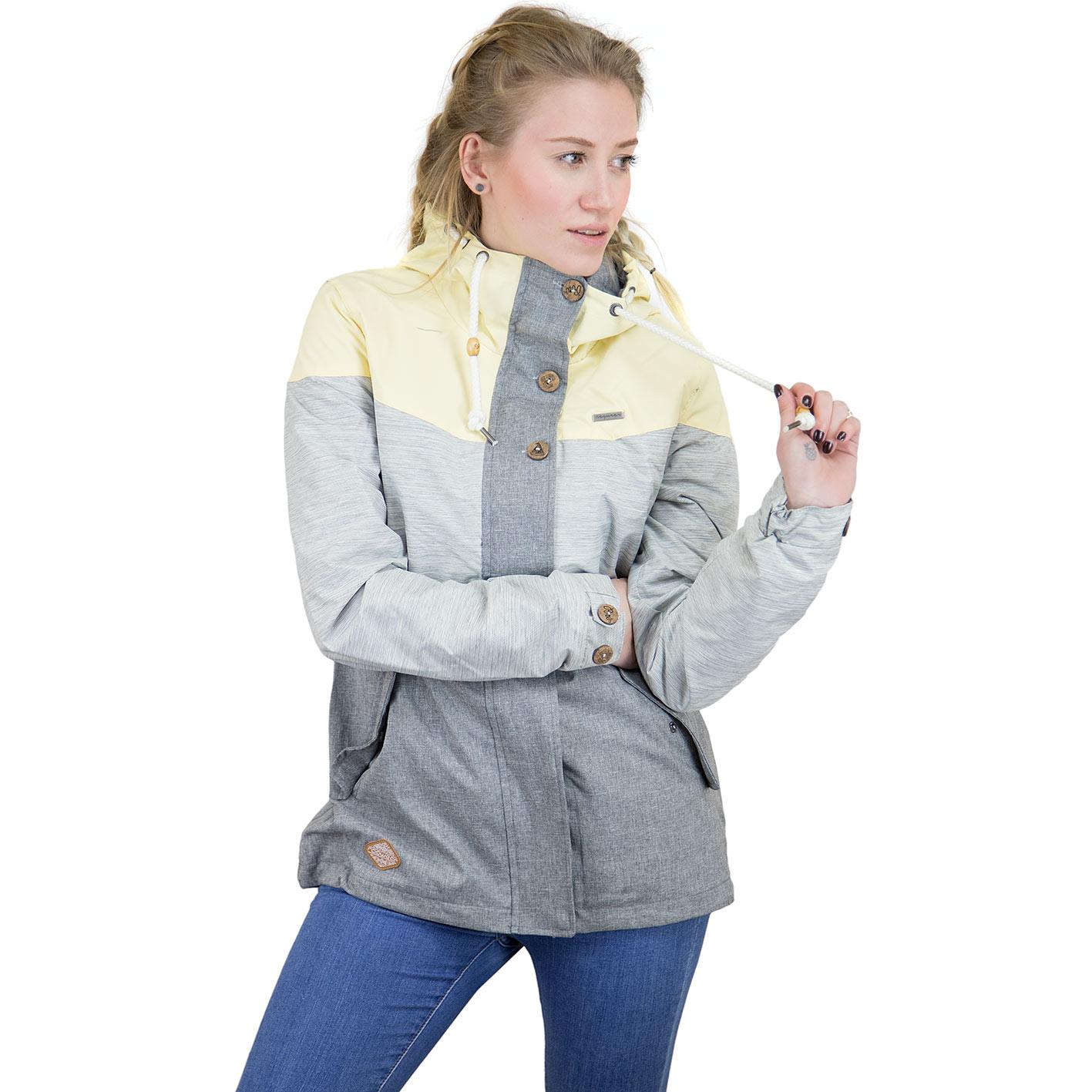 buy popular 10757 34620 Ragwear Damen Übergangsjacke Fancy grau