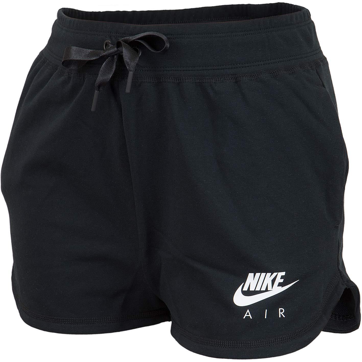 sneakers in stock new list Nike Damen Shorts Air schwarz/weiß