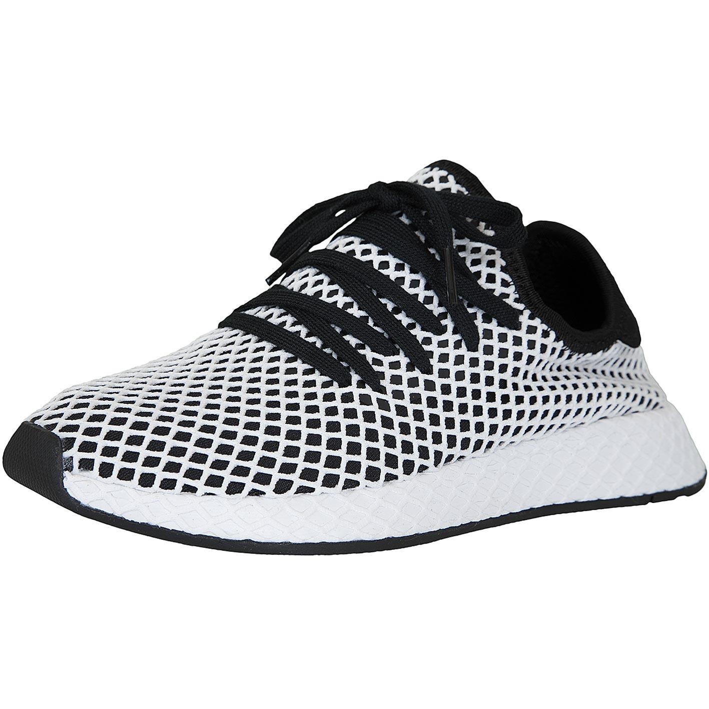 9ca7e6a47b4c5 ☆ Adidas Originals Sneaker Deerupt Runner schwarz weiß - hier ...