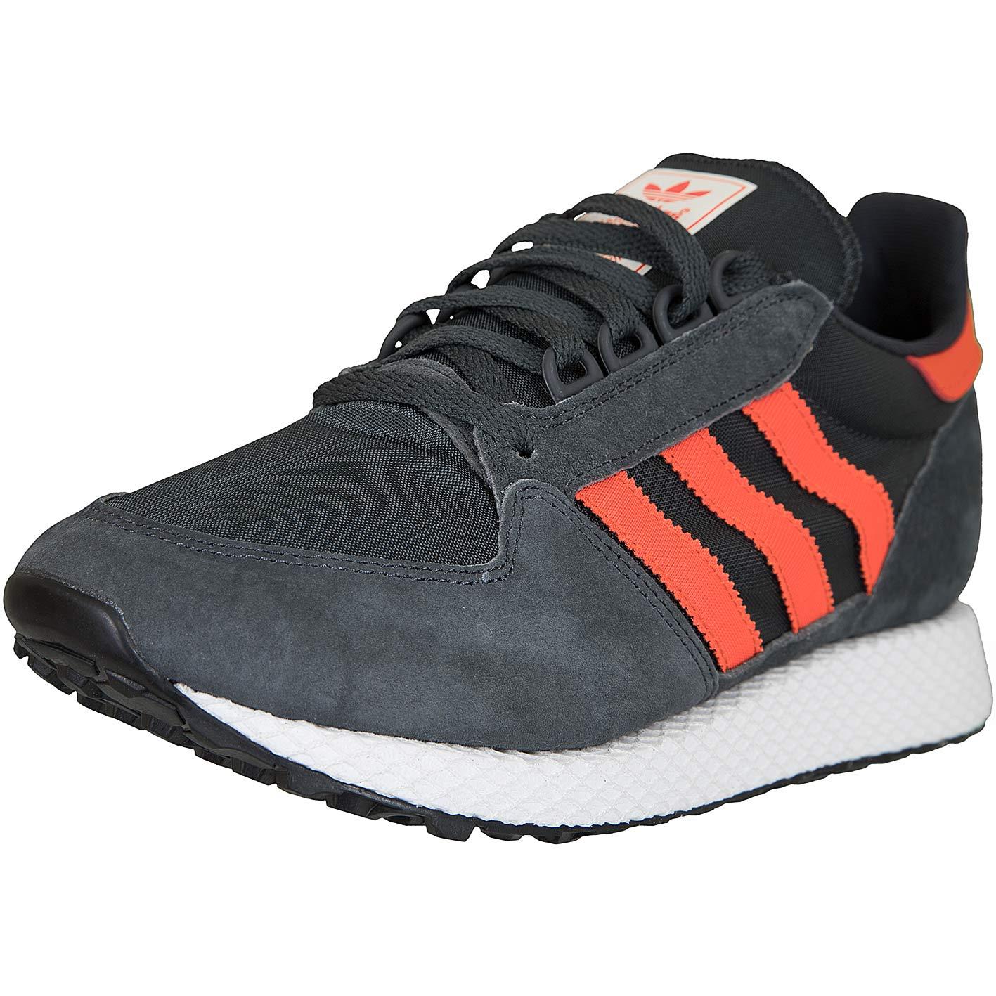 reputable site 5dd4a c21e8 Adidas Originals Sneaker Forest Grove dunkelgrau rot