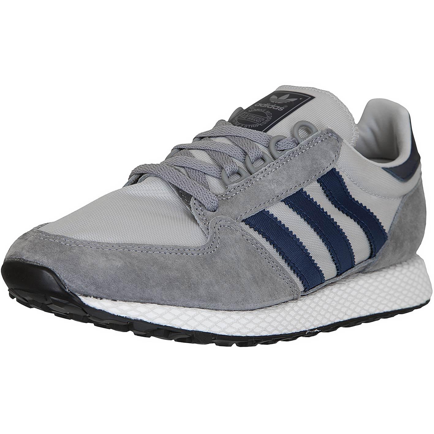 ADIDAS FOREST GROVE grau blau, Art. D96631, Herren Sneaker