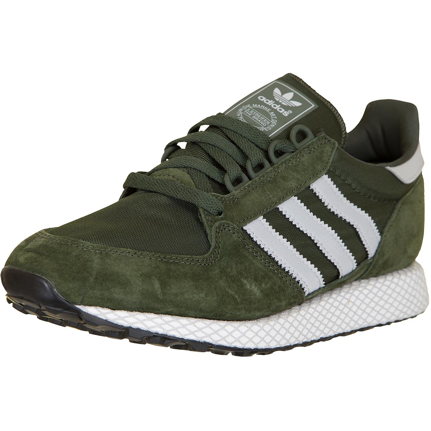 ☆ Adidas Originals Sneaker Forest Grove olivgrau hier