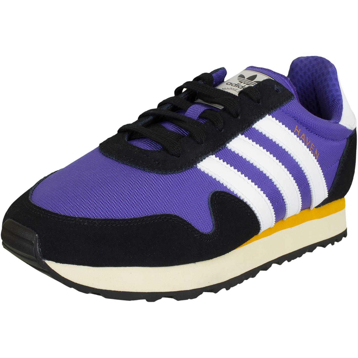 Adidas Originals Turnschuhe Haven lila weiß schwarz hier
