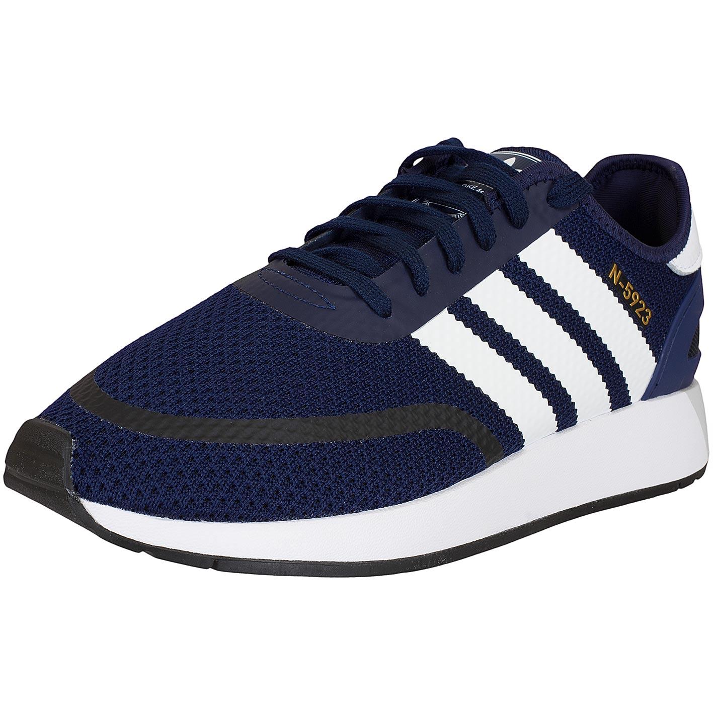 dunkelblaue adidas sneaker