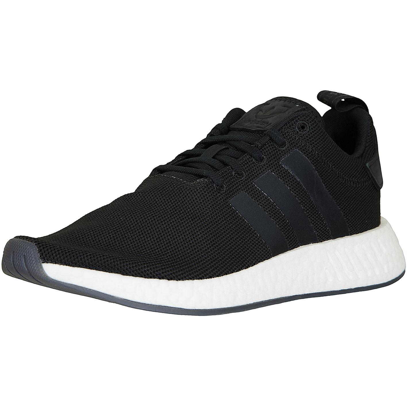 Sneaker Adidas NMD R2 schwarzschwarz