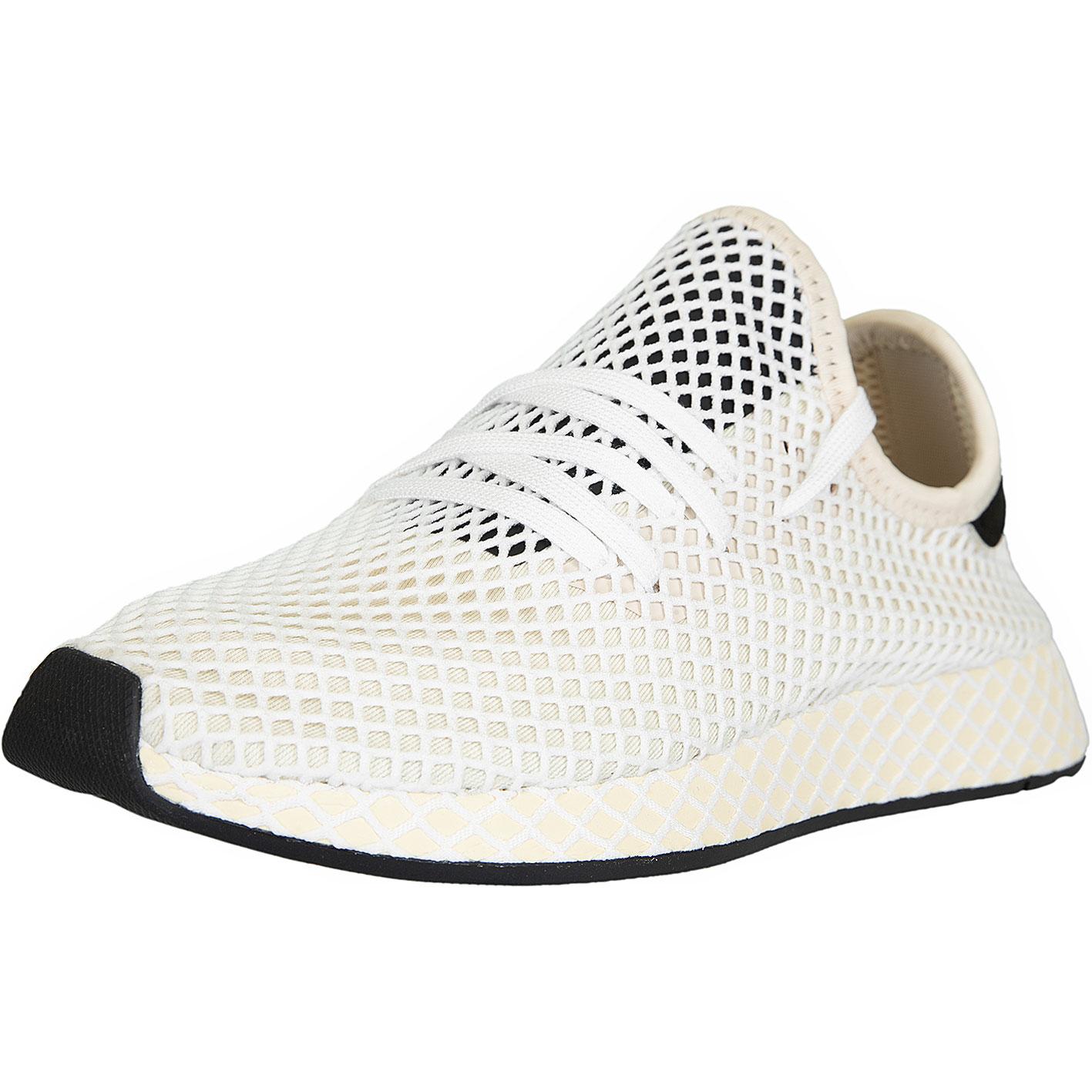 cheap for discount 65e05 ee2ea Adidas Originals Damen Sneaker Deerupt Runner beige