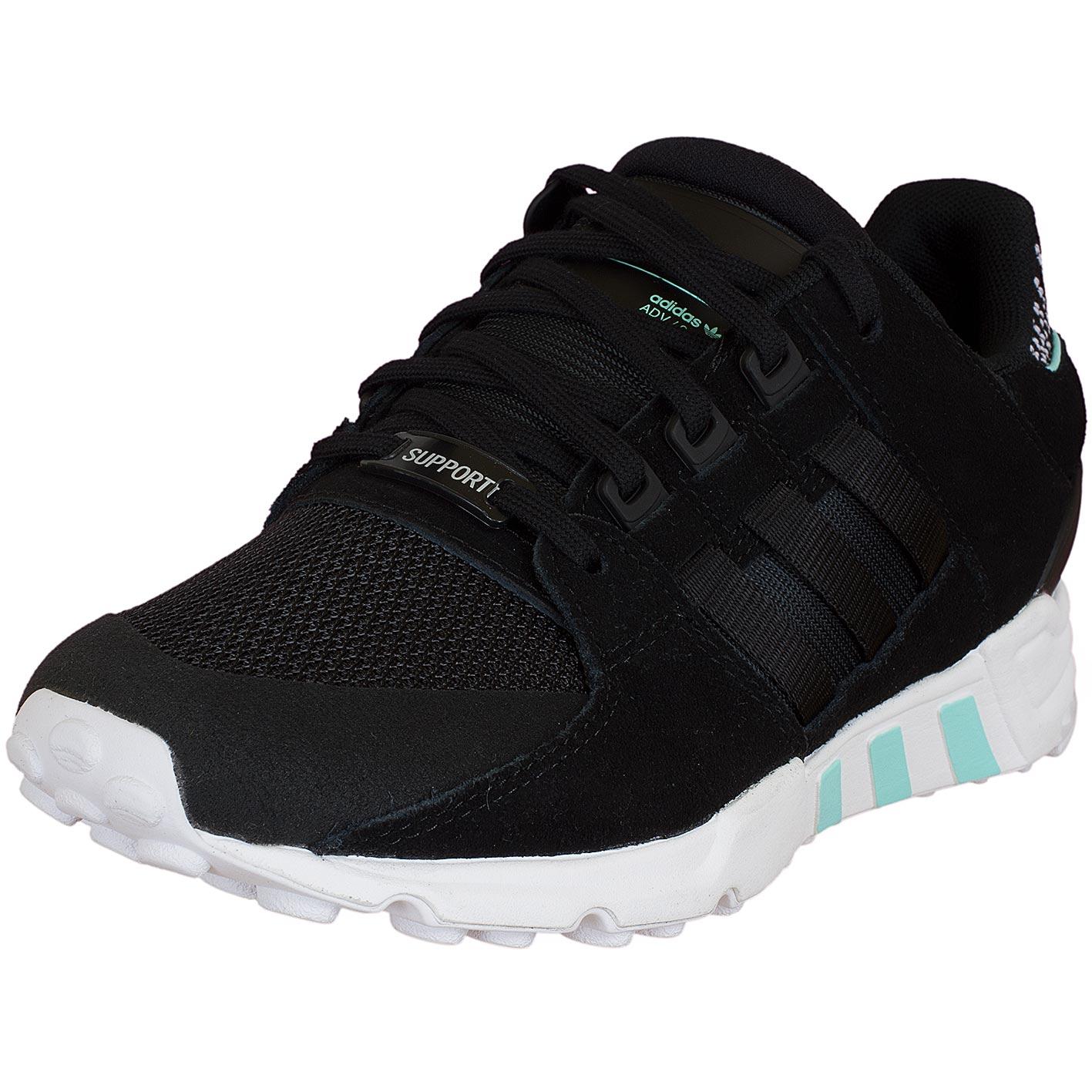 Adidas Originals Damen Sneaker Equipment Support RF schwarzschwarzweiß