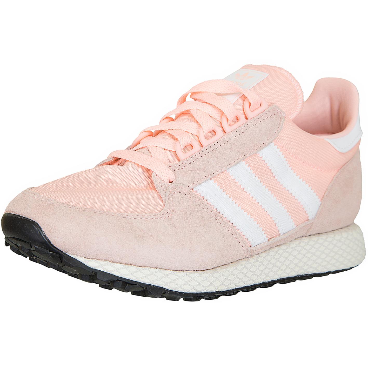 huge selection of 04515 1c2ee Adidas Originals Damen Sneaker Forest Grove rosa weiß