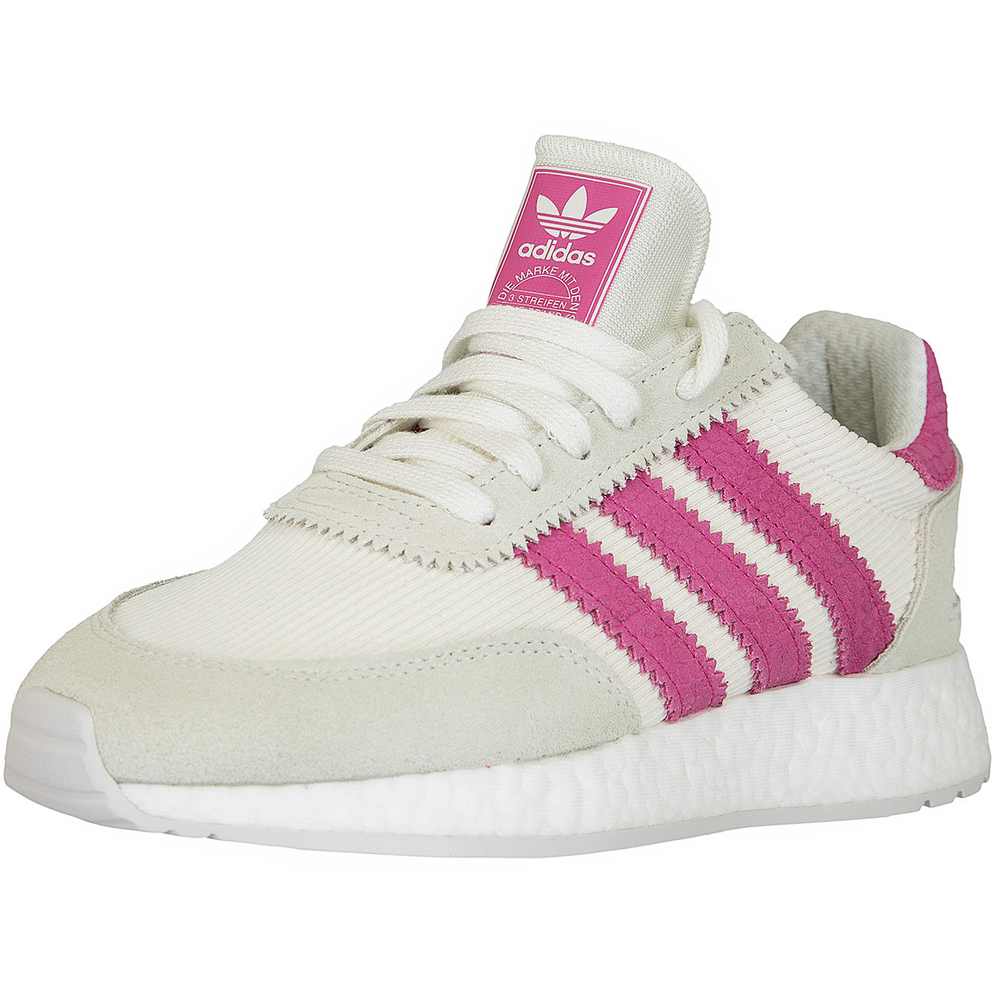 great look autumn shoes check out Adidas Originals Damen Sneaker I-5923 weiß/pink