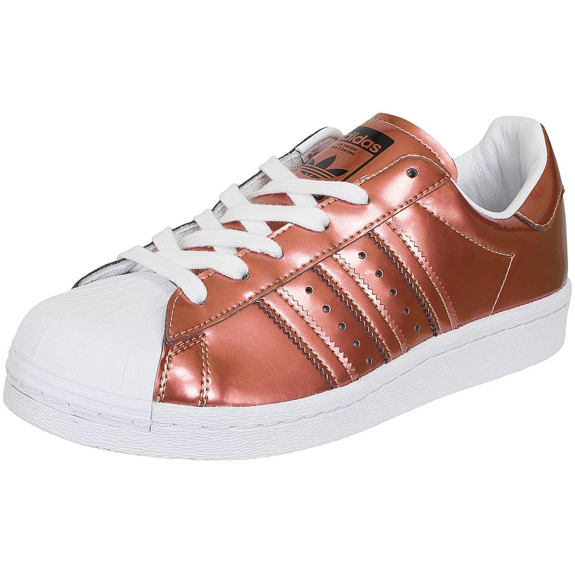 popular stores aliexpress detailed look Adidas Originals Damen Sneaker Superstar kupfer/weiß