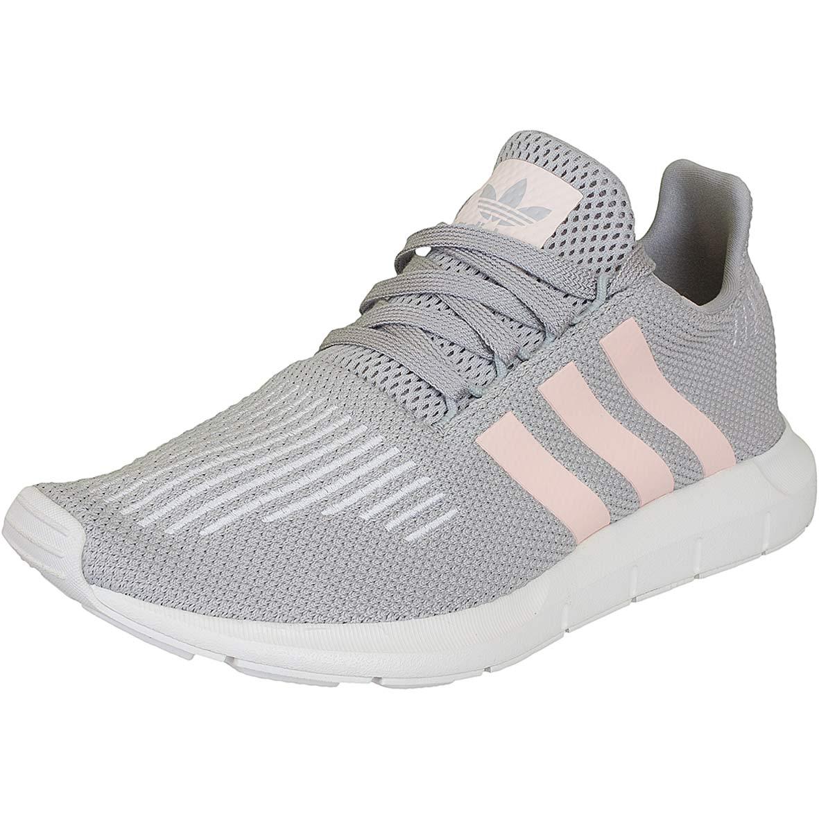 adidas originals damen sneaker swift run grau pink hier bestellen. Black Bedroom Furniture Sets. Home Design Ideas