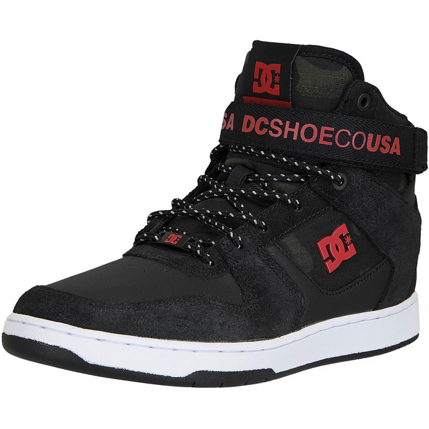 Dc Shoes Sneaker Pensford Schwarzweißrot Se kOXPiZu