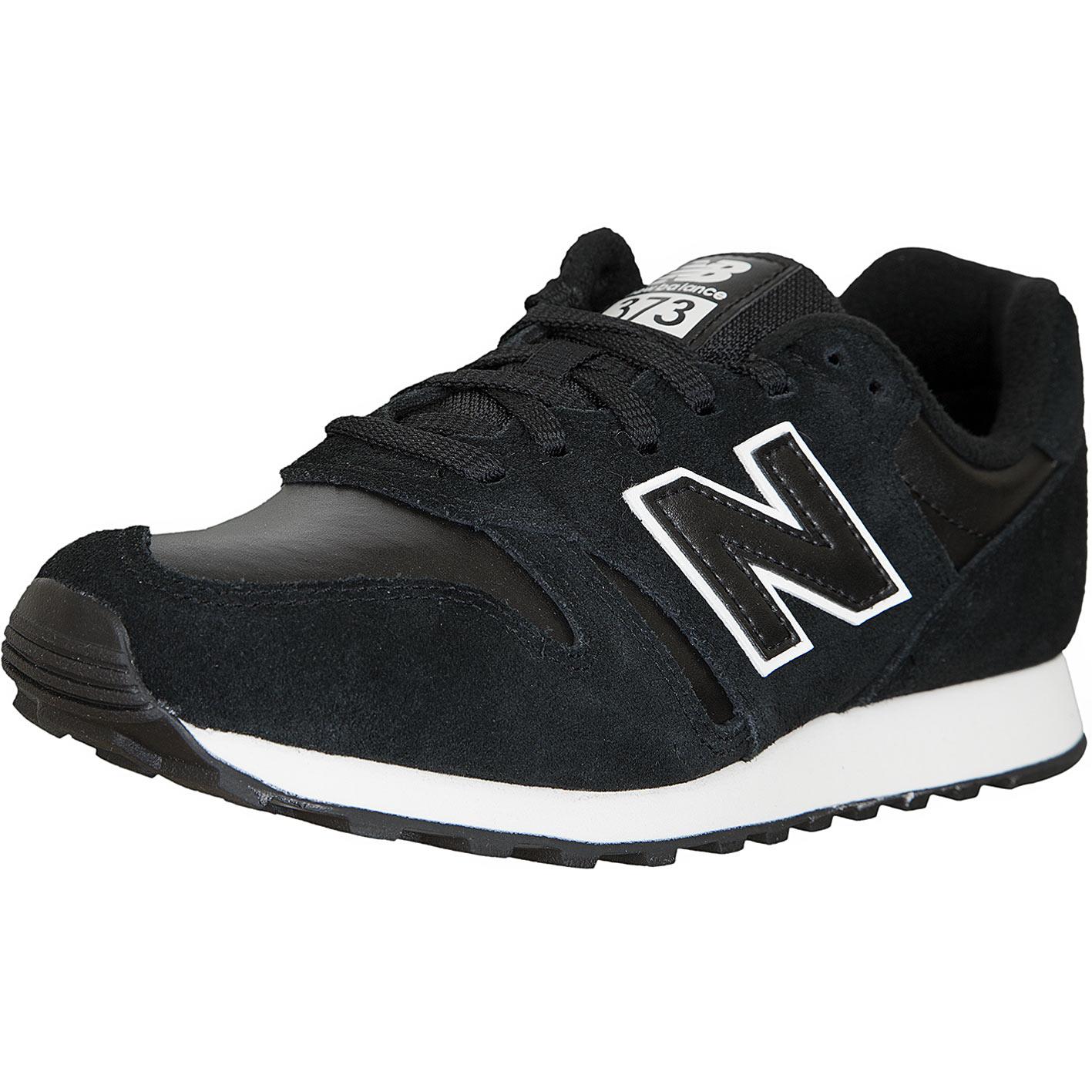 ☆ New Balance Damen Sneaker 373 Leder/Synthetik schwarz ...