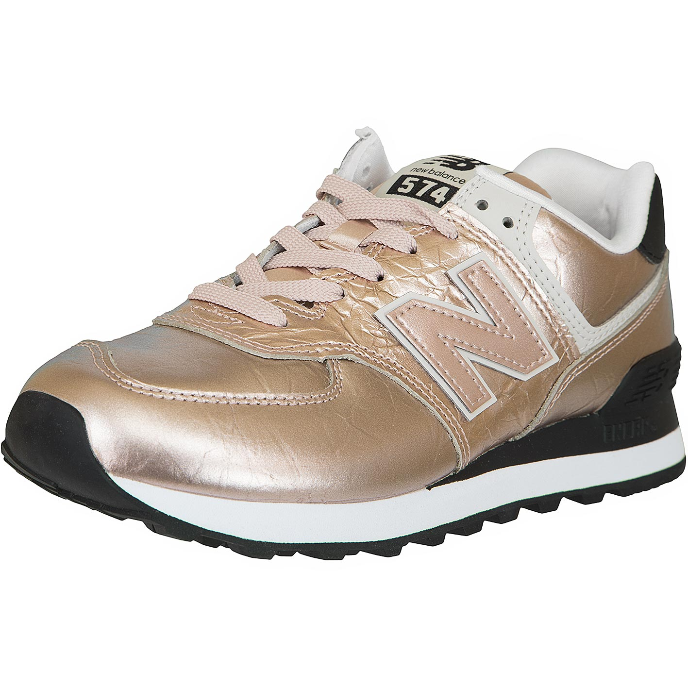 New Balance Damen Sneaker 574 gold