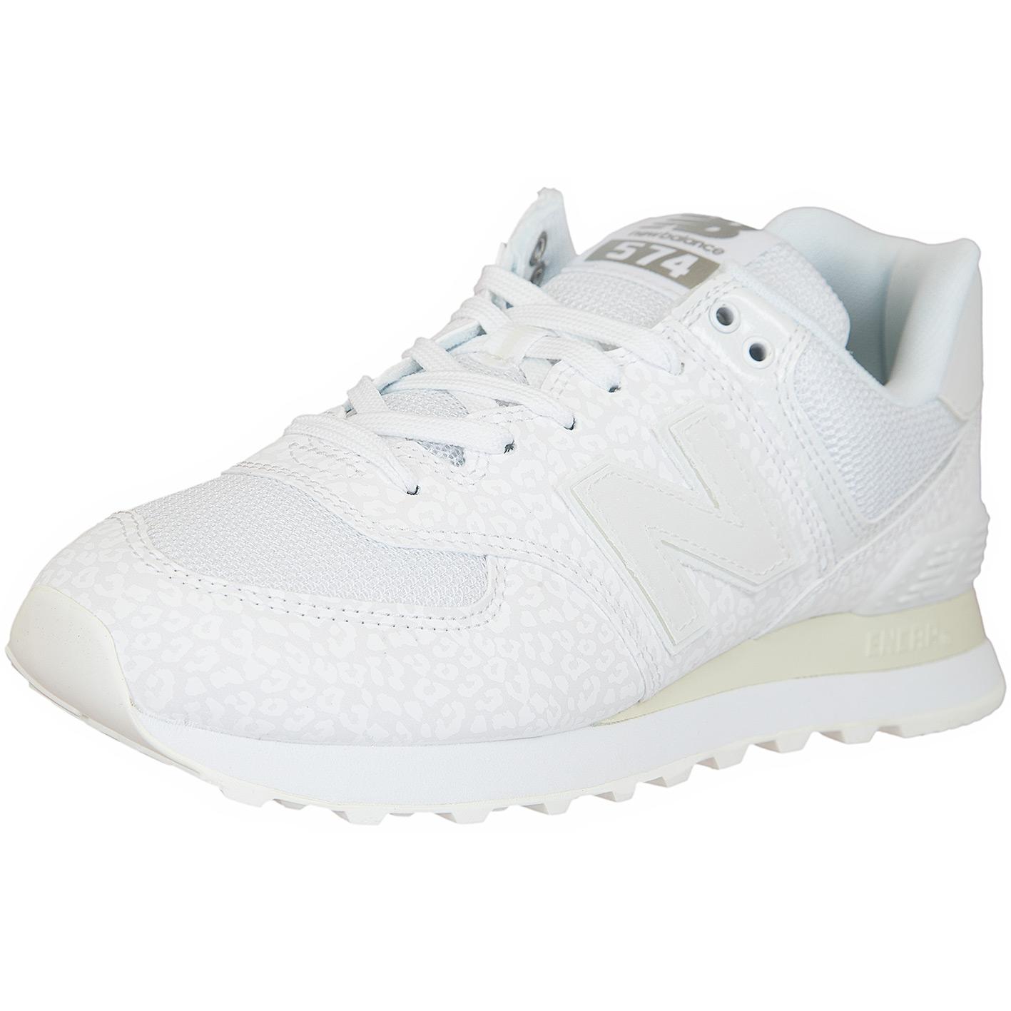☆ New Balance Damen Sneaker 574 Synthetik/Textil weiß ...