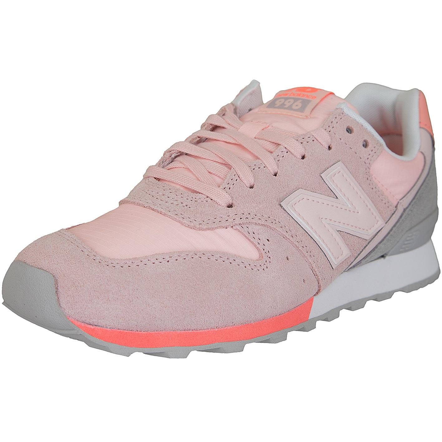 New Balance Damen Sneaker 996 Wildleder/Textil rosa