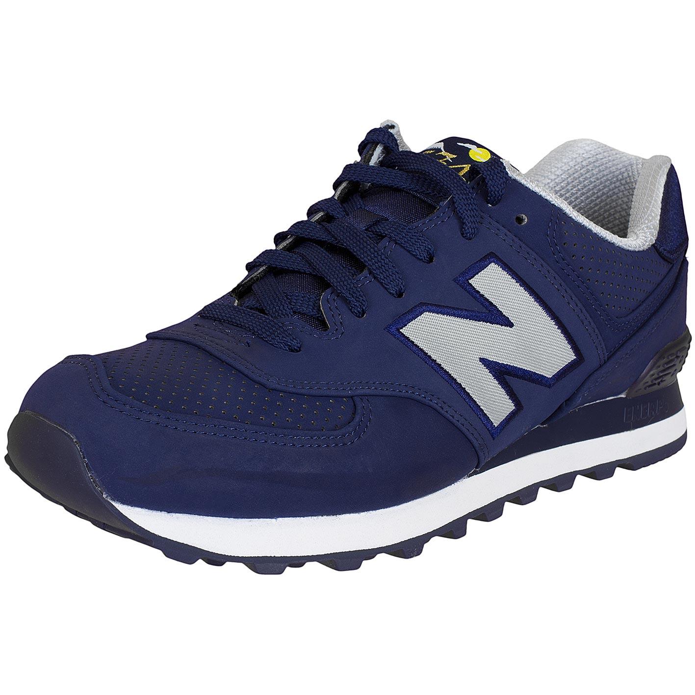 official photos 45c58 f49de New Balance Sneaker ML574 D Textil Synthetik dunkelblau