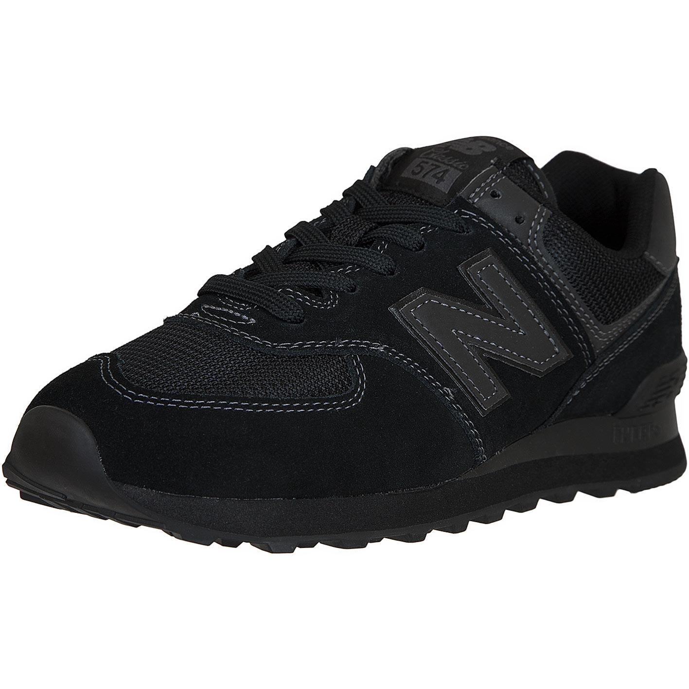 ☆ New Balance Sneaker 574 Leder/Mesh/Synthetik schwarz ...