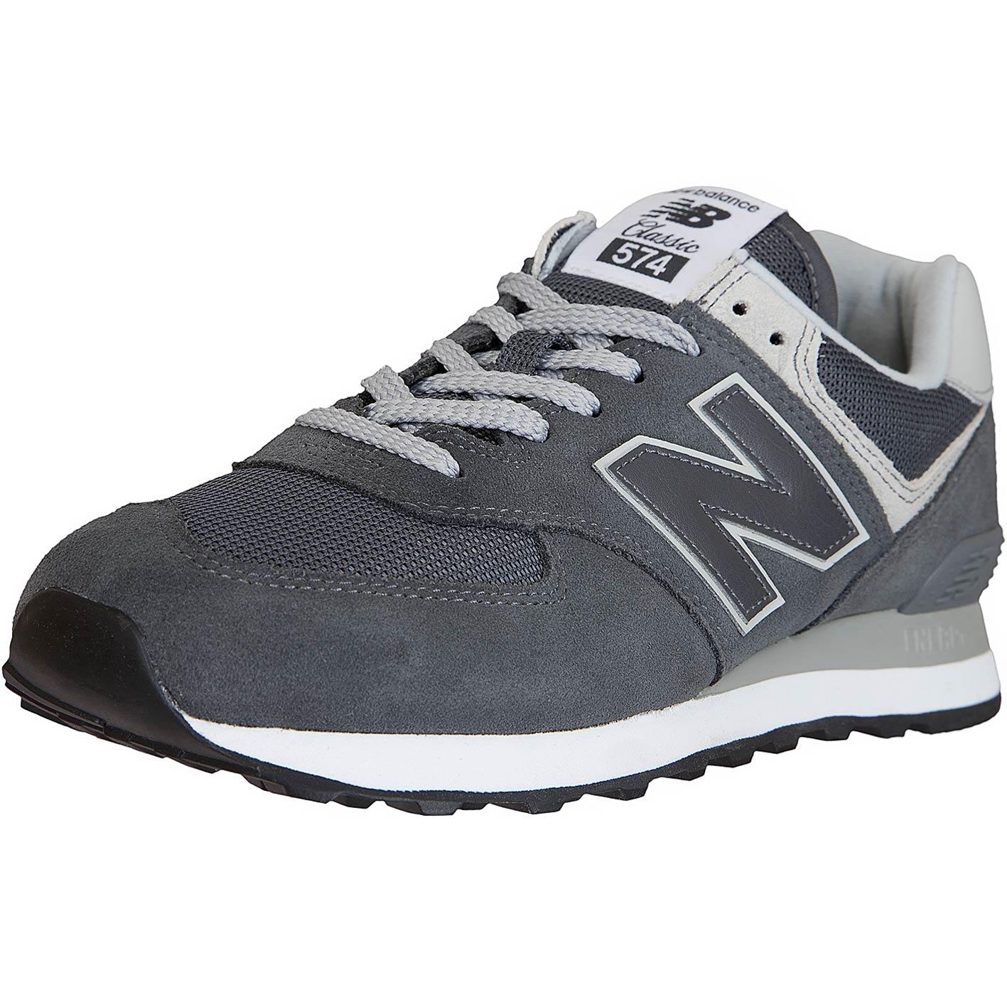 New Balance Sneaker 574 LederTextilPU dunkelgrau