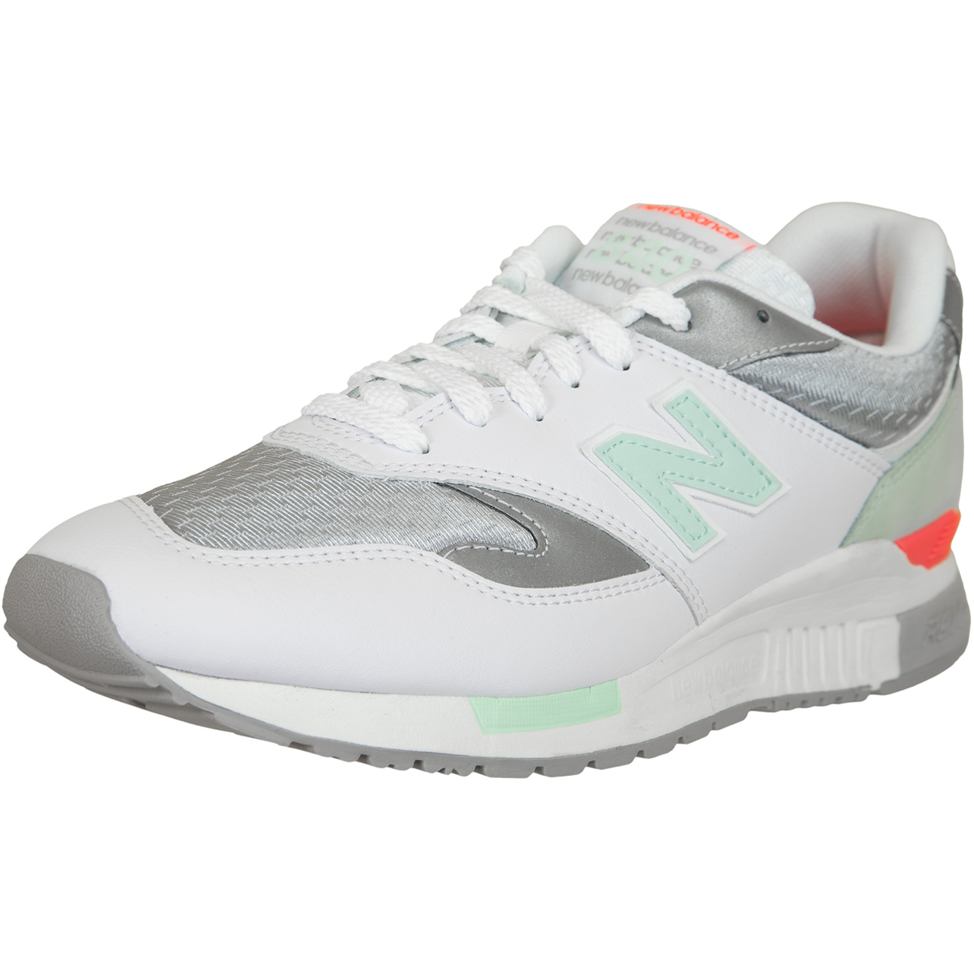 cheap for discount 65bf6 1592f New Balance Sneaker 840 Synthetik/Textil/Leder weiß/silber