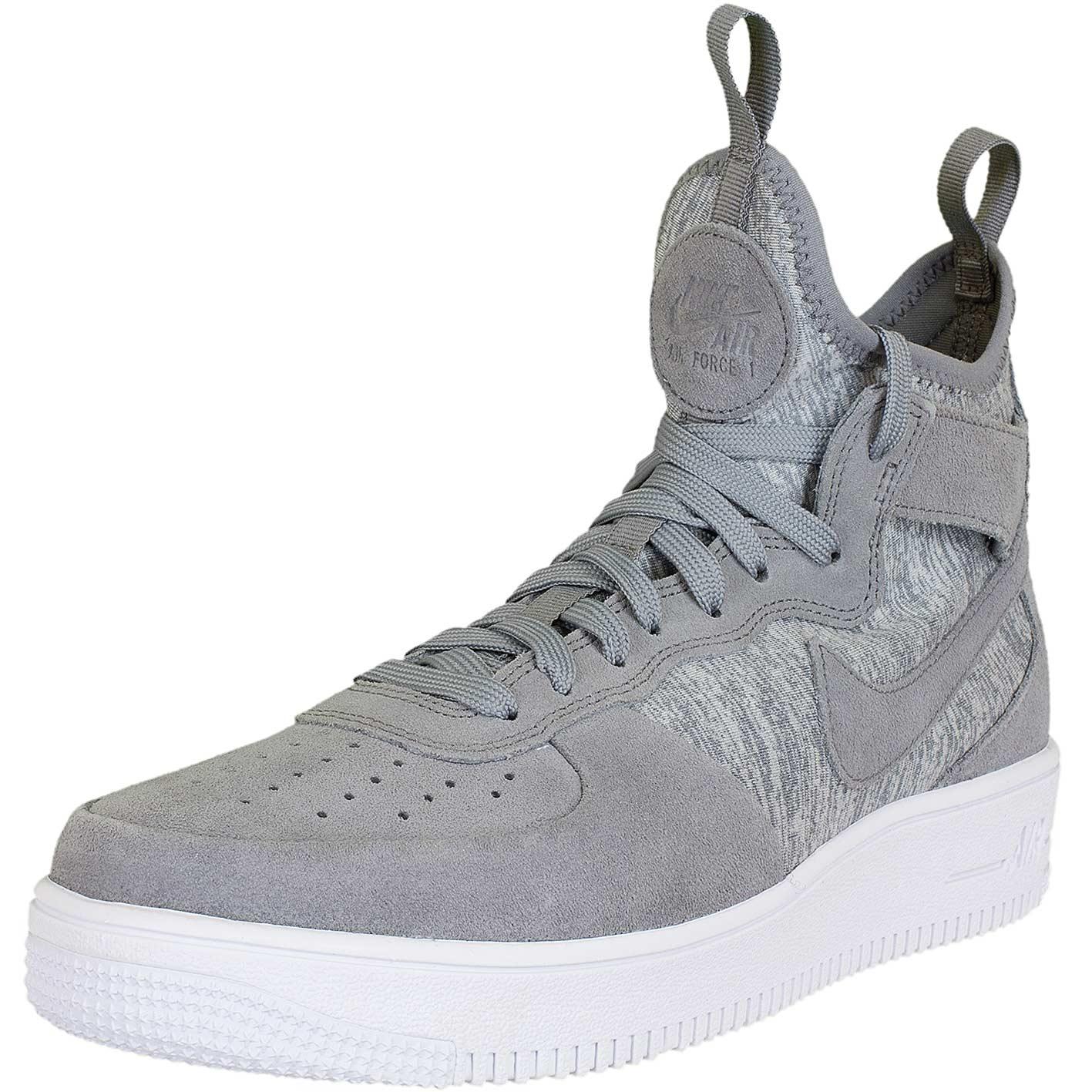 sports shoes 36cb9 f9076 Nike Sneaker Air Force 1 UF Mid Premium grauweiß