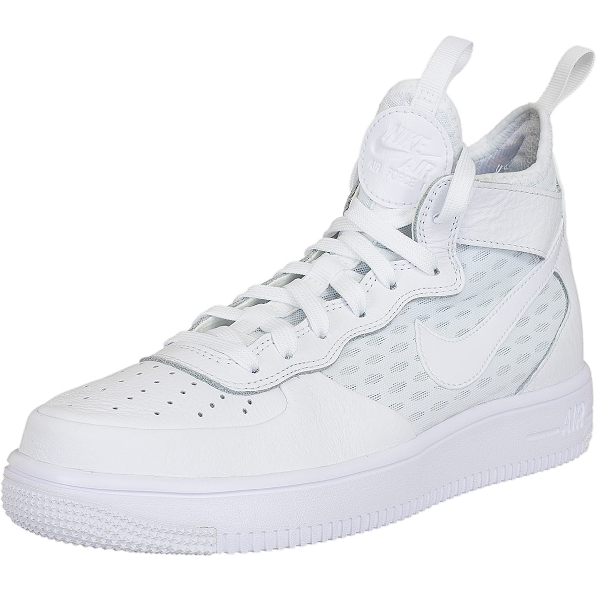 brand new look out for sale online ☆ Nike Damen Sneaker Air Force 1 Ultraforce Mid weiß/weiß ...